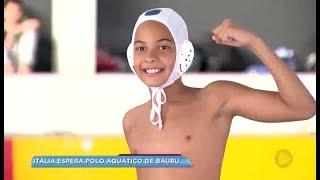 Jovens atletas do Polo Aquático de Bauru embarcam pra Itália em campeonato internacional