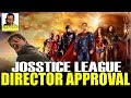 WAS ZACK SNYDER GIVEN THE CHOICE TO APPROVE JOSSTICE LEAGUE?