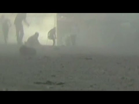 Video! - CNN's Erin Burnett and John Vause discuss dramatic footage of a deadly attack at a market in Gaza. More from CNN at http://www.cnn.com/ To license this and other CNN/HLN content, visit http://coll...