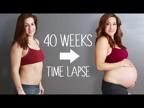 Adorable Pregnancy Time Lapse!