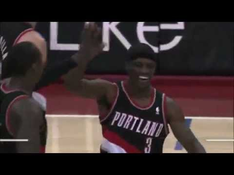 Jonny Flynn to JJ Hickson Alley Oop from halfcourt