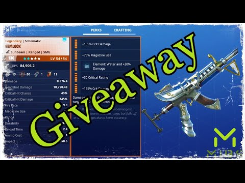 Fortnite Save The World Live | Giveaway Traps / 144 Weapons