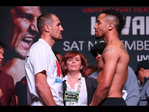 Ward v Kovalev 2: Weigh-in