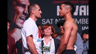 Watch LIVE! Andre Ward vs. Sergey Kovalev 2 official weigh-in. Ward vs. Kovalev 2 happens Saturday, June 17 live on pay-per-view beginning at 9pm ET/6pm PT.