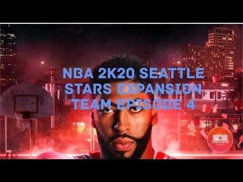 Mitchell Robinson 6 BLOCKS?  NBA 2k20 Seattle Stars Expansion Team Episode 4