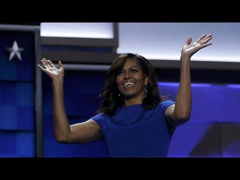 Η Μισέλ Ομπάμα μαγεύει ξανά τα πλήθη