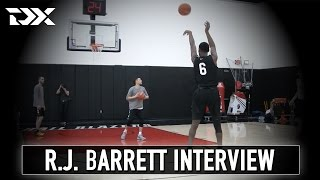 R.J. Barrett Nike Hoop Summit Interview