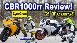 4. Honda CBR1000rr Review After 2 Years! Get Rid of it? | MotoVlog