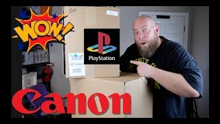 I bought a $2,112 Amazon Customer Return ELECTRONICS Pallet + EXPENSIVE CAMERA & PLAYSTATION CONSOLE