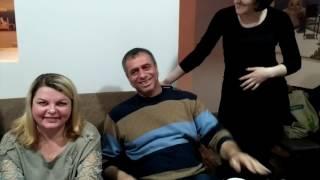 Рождество 2016 в Петербурге. Разговорный клуб в греческой таверне Сиртаки.