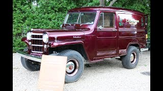 "1956 Willys 4x4 Sedan Delivery For SaleBody Off Restoration with 462 MilesVery, Very Rare with 757 Units BuiltCompletely Rebuilt 226 Super Hurricane Straight 6 MotorT-90 3 Speed Manual Transmission w/ Saturn OverdriveAxil Ratio: 4:88-1This is the 1st 4wd Sedan Delivery of it's time. A Complete Frame-Off restoration was Done at No Expense. Every single Part, Bolt, Nut, Screw, Engine, Drivetrain, Etc was Replaced or Refinished. Under the Hood Sits a Re-Built Original ""Super Hurricane"" Motor. This Vehicle was Created to Deliver Goods where roads are rough and Difficult or No Roads Existed. The Sedan Delivary's ability to get into ""Back Country"" made it Ideal for Growers, Tradesmen and Doctors to Get Business Done in the Harshest Environment...This Willys was Restored to it's ""Original"" Condition Except the Ultra Custom Paint(Candy Apple Deep Burgandy), Interior, Custom Tires, Added Sterio..This Truck is Absolutely Fantastic!!Keep in Touch,Michael RunnallsSpecialty Car Marketing & MediaWeBe Autos Ltd.Long Island, NY 11780 Michael@WeBeAutos.comwww.WeBeAutos.com(O)631-339-0399 (C)516-729-2003 Skype: 661-748-0245 / webeautos (F)631-389-2605 Ask us How WeBe Could Be Selling Your Car Too!"