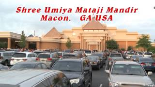 Macon (GA) United States  city photo : Umiya Mataji Mandir Macon Ga USA Jyoti Rath Seq.3