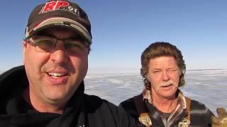 Lake Simcoe ICEFISHING ice Report JAN.,14~15,2017