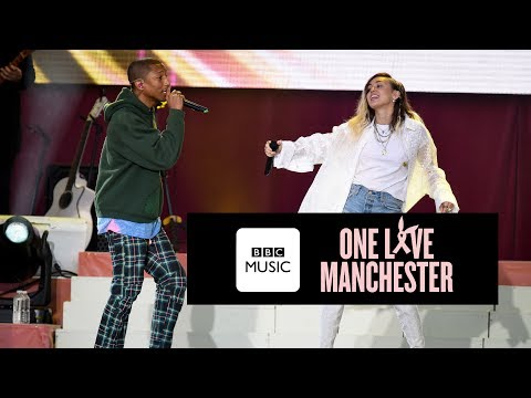 Happy One Love Manchester [Feat. Miley Cyrus]