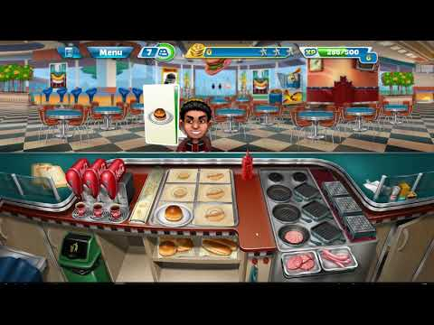 Cooking Fever Game Automated BURGER FRY