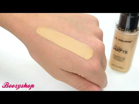 LA Colors LA Colors Truly Matte Foundation Soft Beige