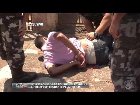 Jovem acusado de roubos em Londrina é preso em flagrante pela polícia