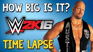 How Big Is WWE 2K16?The series is back in the game! It's been over 2 months since this series had a new edition and there are plenty more to come! » Music: Jimmy Wahlsteen - Inumeri» How Big Is It? Full Playlisthttps://www.youtube.com/watch?v=Q5_COXFqgDU&index=1&list=PLc8BhPpsPhWbolaLohLkiFff6QjobVfHV&t=10s» Don't forget to like the video and subscribe to the channel for more ridiculous videos like the one you've just seen.» Support me by becoming an 8-Bit Bastard Patreon, you'll gain access to exclusive content! https://www.patreon.com/8BitBastardStay Connected!• Twitter: https://twitter.com/8Bit_Bastard• Patreon: https://www.patreon.com/8BitBastard• Facebook: https://www.facebook.com/8BitBastard/