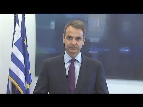 Συνάντηση με τον πρόεδρο της Βουλής Νίκο Βούτση  είχε ο Κ. Μητσοτάκης