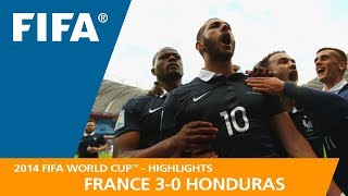 Video FRANCE v HONDURAS (3:0) - 2014 FIFA World Cup™ MP3, 3GP, MP4, WEBM, AVI, FLV September 2018