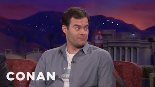 Video Bill Hader Can't Put On Muscle  - CONAN on TBS MP3, 3GP, MP4, WEBM, AVI, FLV September 2018