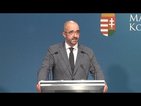 Kovács Zoltán szerdán Budapesten sajtótájékoztatón