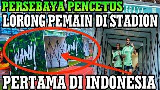 Video KEREN.... Pertama di Indonesia Lorong Pemain Stadion Bonek Persebaya seperti di Eropa MP3, 3GP, MP4, WEBM, AVI, FLV Juli 2018