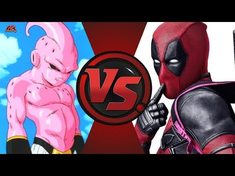 Kid Buu Vs Deadpool (Dragon Ball Z Vs Marvel)! Cartoon Fight Night Episode 51!