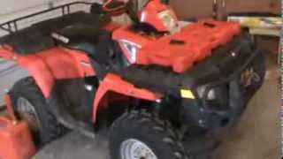 7. Polaris Sportsman 500 HO Spark Plug Location