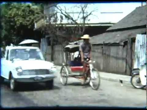 Streets of Thailand in the 1970's Bankok vintage Super 8 footage