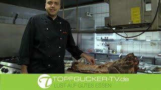DIY | Wie zerwirken ich einen Wildschweinrücken für Medaillons | Topfgucker-TV