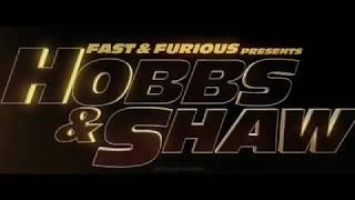 #hobbsandshaw #rapidoyfurioso  Hobbs y Shaw (trailer oficial ) rápido y furioso