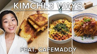 How To Make 3 Different Recipes With Kimchi • Tasty by Tasty