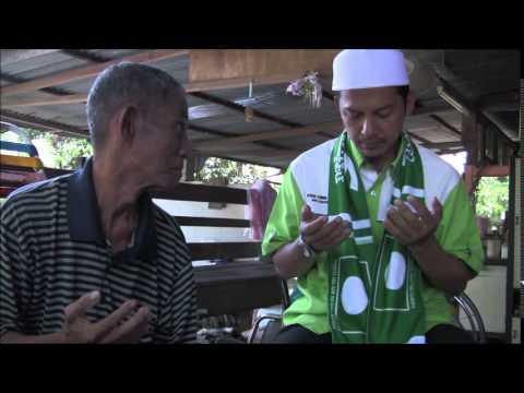 PRK Rompin; Calon PAS Ustaz Nazri Ahmad Menziarahi Warga Emas dan Uzur Di Felda Keratong 4