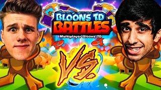 Bloons TD Battles. Bloons TD VS. Enjoy!Follow me on TWITTER: http://twitter.com/#!/Vikkstar123My Facebook Page: https://www.facebook.com/Vikkstar123My Instagram: http://instagram.com/VikkstagramMy capture card: http://e.lga.to/vMy Laptop: http://bit.ly/1LvVZvGFollow me on Twitch for Livestreams: http://www.twitch.tv/vikkstar123Check out my other channels linked below:Minecraft: http://www.youtube.com/Vikkstar123HDGeneral Gaming: http://www.youtube.com/Vikkstar123