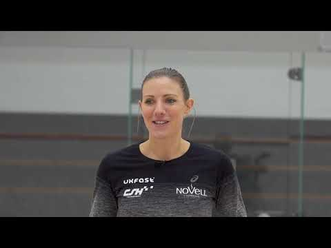 Squash tips: Attack is the best form of defence with Laura Massaro