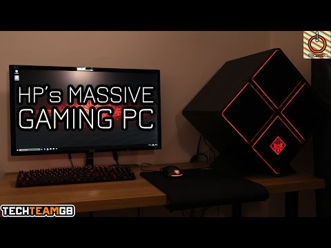 HP OMEN X 900-085NA Gaming PC Review