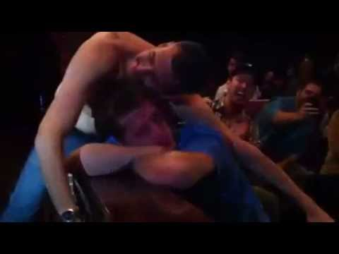 Drunk Passes Out At Darren Carter Comedy Show - Bad Idea