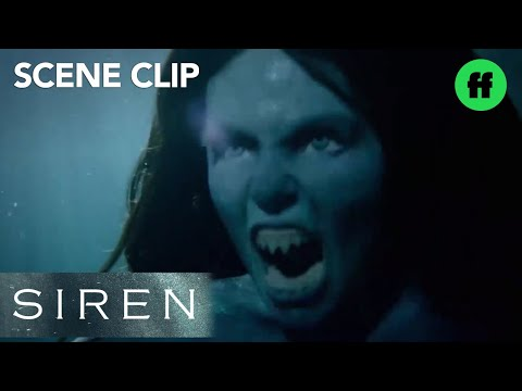 Siren | Season 1, Episode 1: Ryn's Mermaid Transformation | Freeform