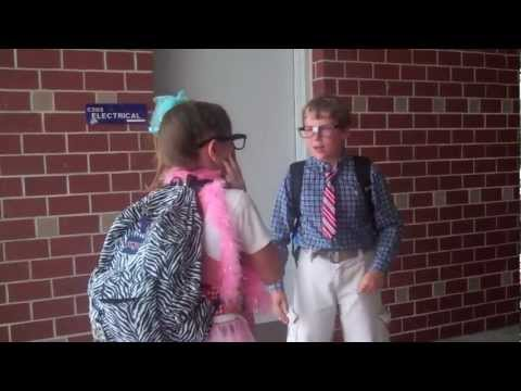 """One of the 7th Grade Skits, """"The New Kid!"""""""