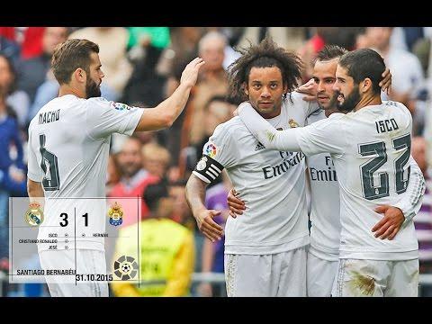 Real Madrid 3-1 Las Palmas (La Liga 2015/16, matchday 10)