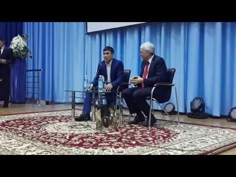 Видео встречи Серика Сапиева с учениками Назарбаев Интеллектуальной школы
