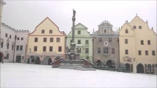 Cesky Krumlov Czech Republic  city images : Cesky Krumlov in Winter Snow (Czech Republic Bohemia Unesco Site)