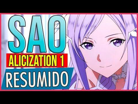 Resumen Alicization SAO 3 | Sword Art Online Temporada 3 #Alicization  Parte 1 #Resumido
