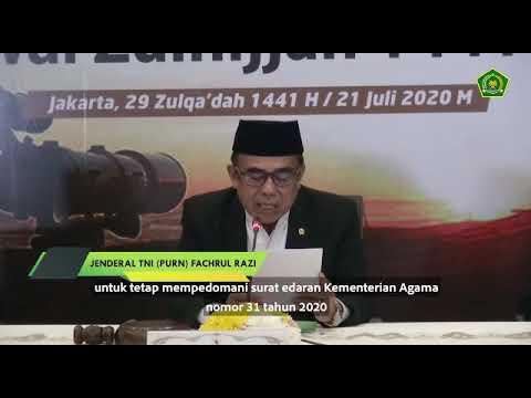 Imbauan Menag Tentang Pelaksanaan Shalat Idul Adha 1441 H
