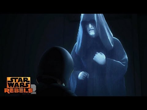 Star Wars Rebels: Emperor Palpatine & Force Ghost Kanan Appearences