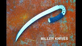 Facebook page https://www.facebook.com/Miller-Knives-285026088542858/This is how I forged the Chronicles of Riddick Ulak knife