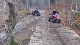 10. 250CC AND 270CC ATV ON MUD