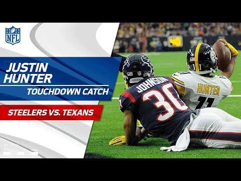 Video: Martavis Bryant's Sideline Toe-Tap Grab & Justin Hunter's TD Catch | Steelers vs. Texans | NFL Wk 16