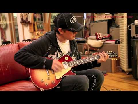 Joe Bonamassa playing a 1958 Gibson Les Paul at Rumble Seat Music